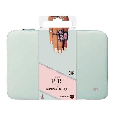 Mobilis Skin Sleeve 14-16'' Pearl grey/Powder pink Laptoptas
