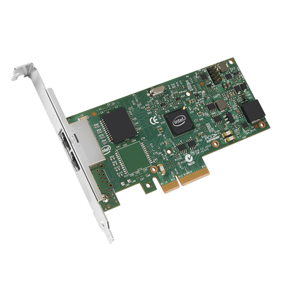 Intel Ethernet Server Adapter I350-F2 Netwerkkaart - Groen