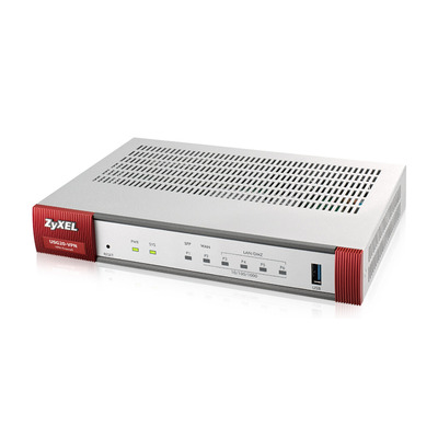 Zyxel ZyWALL USG20-VPN-EU0101F Router - Grijs, Rood