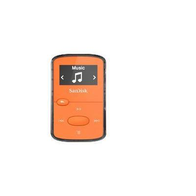 "Sandisk MP3 speler: 2.4384 cm (0.96 "") OLED 128 x 64, 8 GB, MP3, WMA (NO DRM), AAC, WAV, 18 h, Micro USB 2.0, Orange - ....."