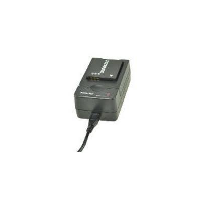 Duracell oplader: USB, 5V, Replacement f/ Panasonic DMW-BCF10/DMW-BCG10 - Zwart