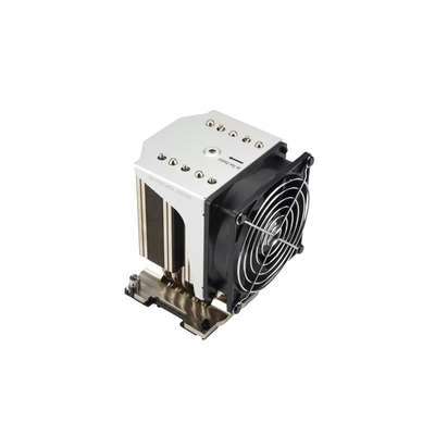 Supermicro 3800 RPM, 38 dB, 205W, 12V, 92x25x92mm Hardware koeling - Aluminium,Zwart