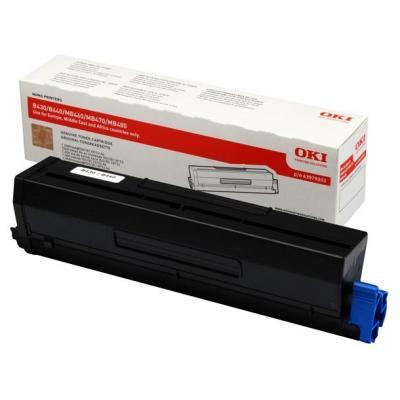 OKI cartridge: B430 Toner cartridge - Zwart