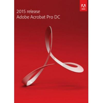 Adobe desktop publishing: Acrobat Pro DC, Multilingual