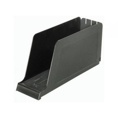 Elba Tijdschriftcassette legbord zwart Brievenbak