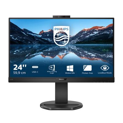 Philips B Line LCD-met USB-C Monitor - Zwart