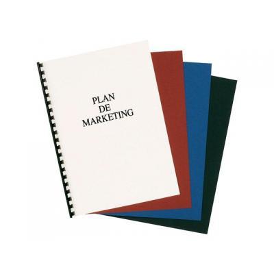 Staples binding cover: Schutblad SPLS A4 0,15mm transp./pk100