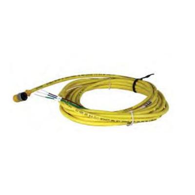 Honeywell Power Adapter, Bare Wire 12 VDC Electriciteitssnoer - Geel