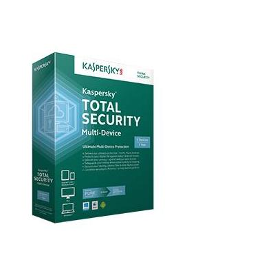 Kaspersky lab software: Total Security 2015