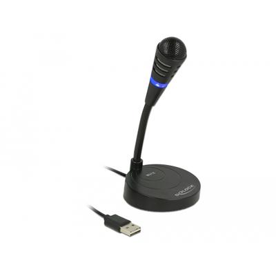 DeLOCK 65868 Microfoon - Zwart
