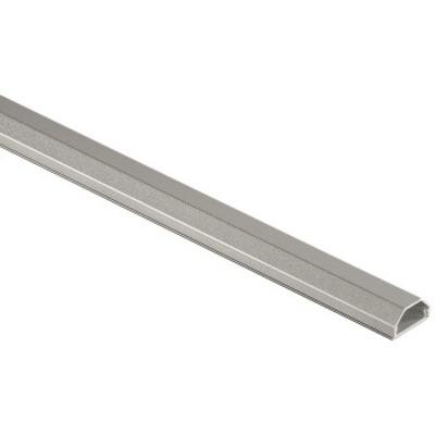 Hama kabel beschermer: Aluminium Cable Duct, silver - Zilver