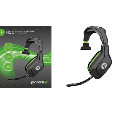 Gioteck game assecoire: Gioteck, HCC Mono Chat Headset  Xbox 360