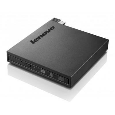 Lenovo brander: ThinkCentre Tiny-in-One Super-Multi Burner, Black - Zwart