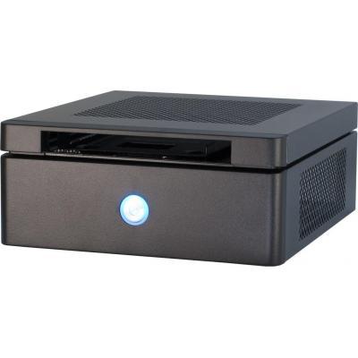 Inter-tech behuizing: Mini ITX-603 - Zwart