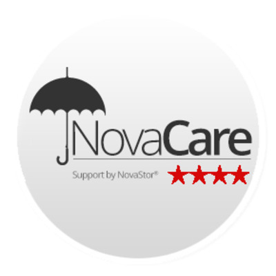 Novastor NovaCare f/ NovaBackup Business Essentials 1Y RNWL Garantie