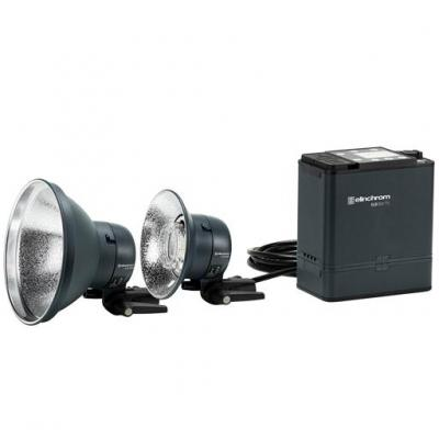 Elinchrom ELB 500 TTL Dual To Go Photo studio equipment set