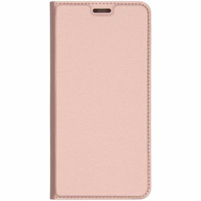 Slim Softcase Booktype Samsung Galaxy A7 (2018) - Rosé Goud / Rosé Gold Mobile phone case