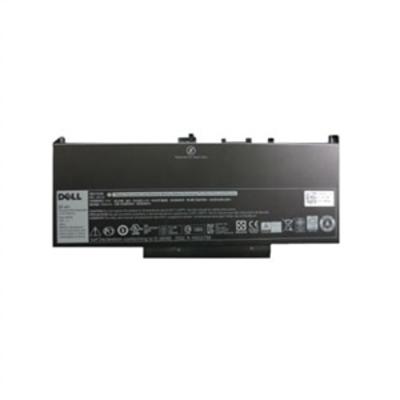 DELL Laptop battery - 1 x lithium ion 4-cell 55 Wh - for Latitude E7270, E7470 Batterij - Zwart