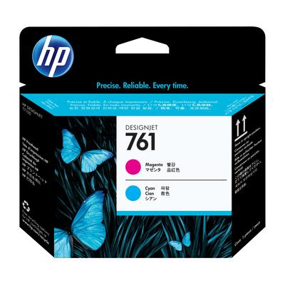 HP 761 Printkop - Cyaan, Magenta