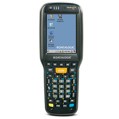 Datalogic Skorpio X4 - Alphanumeric PDA - Zwart