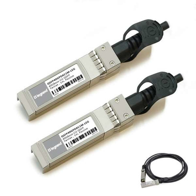 Legrand MSA- en TAA-conforme 40GBase-CU QSFP+ tot QSFP+ Direct Attach-(Passieve Twinax, 1m) Kabel - Zilver