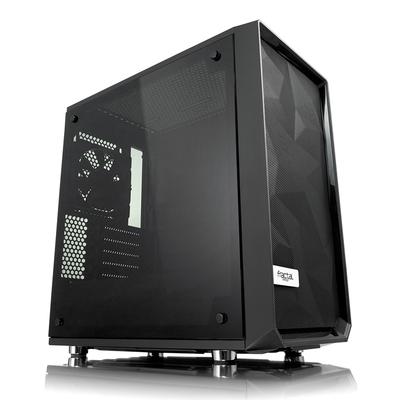 Fractal Design Meshify C Mini – Dark TG Behuizing - Zwart