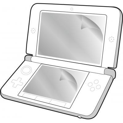 Speedlink game assecoire: Speedlink, Screen Protection Set for 3DS XL (Transparant)