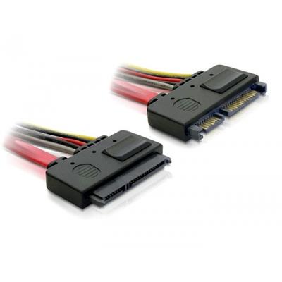 DeLOCK SATA Cable 0.2m ATA kabel - Rood