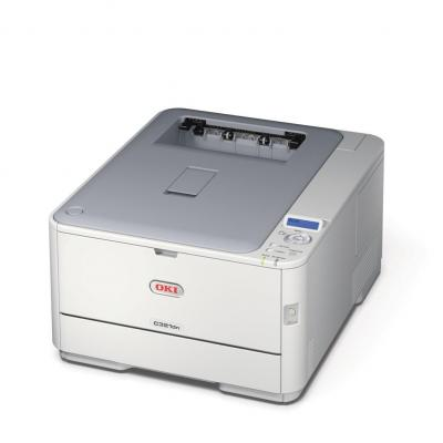 OKI laserprinter: C321dn - Wit