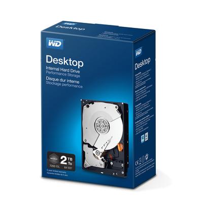 "Western Digital WD Black 2TB 7200rpm 3,5"" SATA Interne harde schijf"