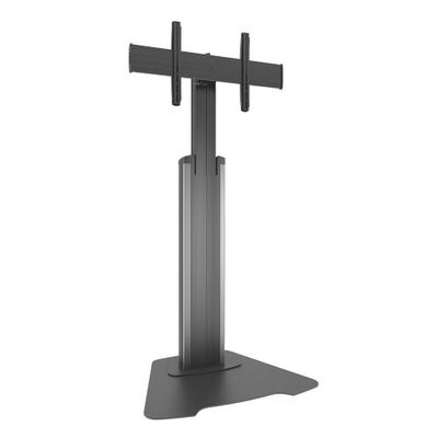 Chief Large FUSION Manual Height Adjustable Floor Stand TV standaard - Zwart,Zilver