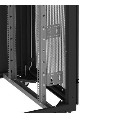 Eaton rack toebehoren: RE/C, Vertical Cable Tray, 42U 150mm wide,1pc - Zwart