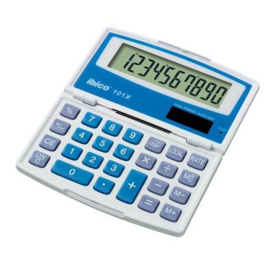 Rexel calculator: Ibico 101X Zakrekenmachine