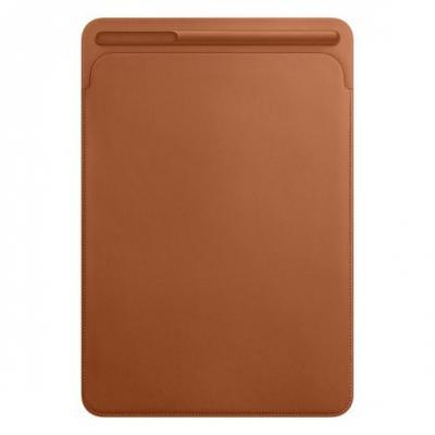 Apple tablet case: Leren Sleeve voor 10.5'' iPad Pro - Saddle Brown - Bruin