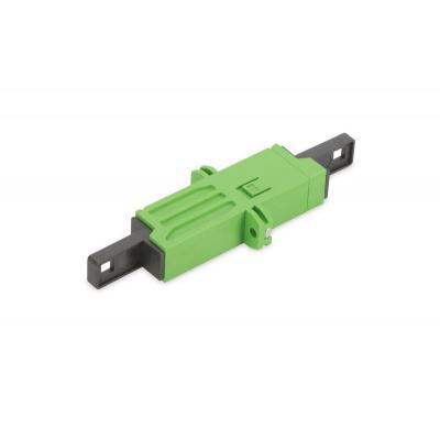 ASSMANN Electronic E-2000 LSH, 8 APC, 0.3 dB Fiber optic adapter - Groen