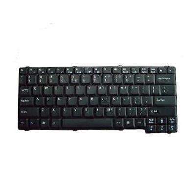 Acer notebook reserve-onderdeel: Keyboard US Qwerty - Zwart