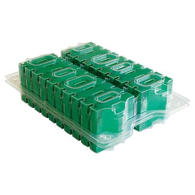 Hewlett Packard Enterprise LTO-4 Ultrium 1.6TB Custom Labeled No Case 20-Pack Datatape - Groen