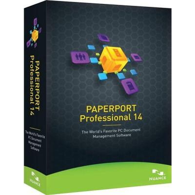Nuance document management software: PaperPort Professional 14, EDU