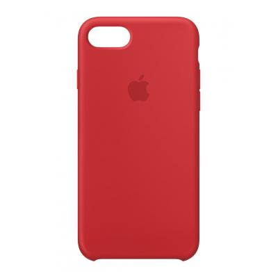 Apple mobile phone case: Siliconenhoesje voor iPhone 8/7 - (PRODUCT)RED - Rood