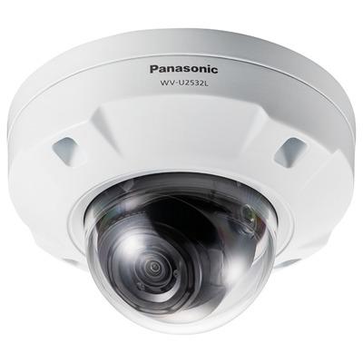 """Panasonic 1/3"""" CMOS, 1920x1080px, 30 fps, 30m IR, 6.7W PoE, 154x154x103mm, 1kg, White/Black Beveiligingscamera ....."""
