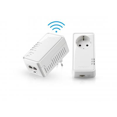 Sitecom powerline adapter: LN-555 Wi-Fi Homeplug 500 Mbps 2 Pack - Wit