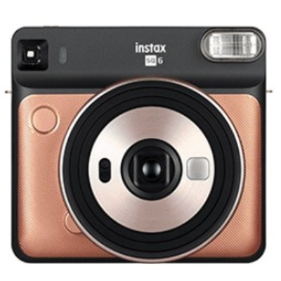 Fujifilm direct klaar camera: Instax SQ 6 - Goud