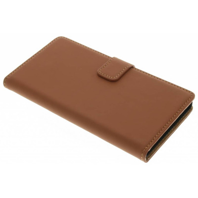 Luxe Hardcase Booktype Sony Xperia XZ - Bruin / Brown Mobile phone case