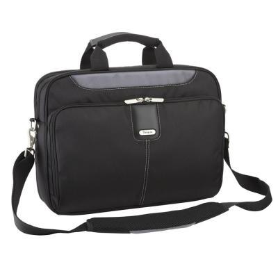 Targus laptoptas: 15 - 15.6 inch / 38.1 - 39.6cm Transit Toploading Case - Zwart