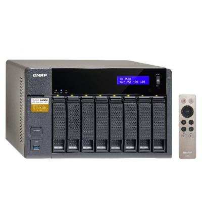 Qnap NAS: TS-853A - Zwart