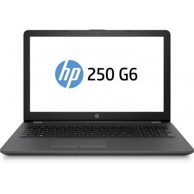 HP laptop: 250 G6 - Zwart (Renew)