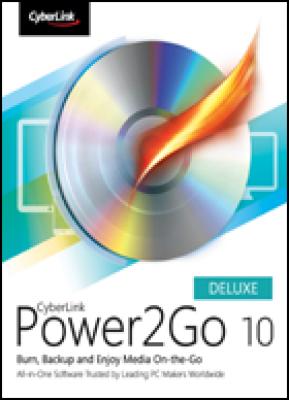 Cyberlink tekstverwerker: Power2Go 10 Deluxe (download versie)