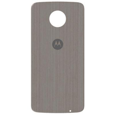 Lenovo mobile phone case: Mods Back Cover - Silver Oak - Zilver, Hout