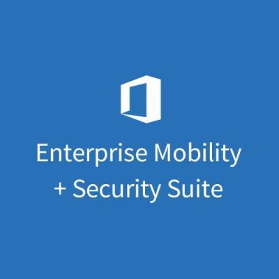 Microsoft Enterprise Mobility + Security Suite (Maandelijks) Software licentie