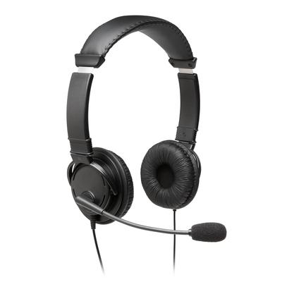 Kensington USB-Hi-Fi-hoofdtelefoon met microfoon Headset - Zwart